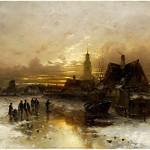 Désiré Thomassin 1858 wien  1933  munchen Olie op doek 56 x
